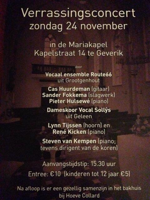 Uitnodiging concert